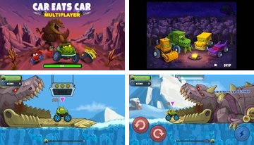 Car Eats Car Multiplayer Racing