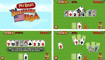 Mr Bean Solitaire Adventures - fajna gra karciana